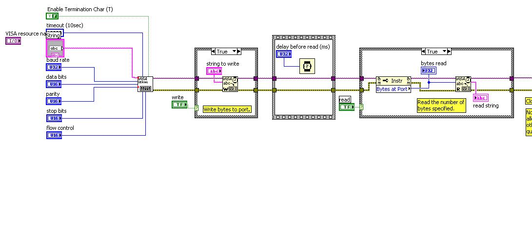 VISA Resource Name problems with reading COM - comp lang labview