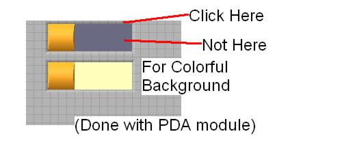 how to change background color in publisher 2007