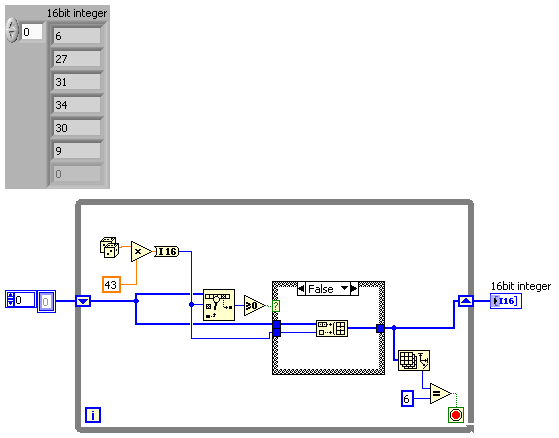 labview lotto generator