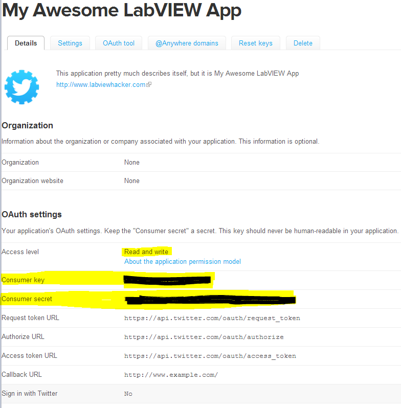 Getting Started with the LabVIEW Twitter Toolkit - NI