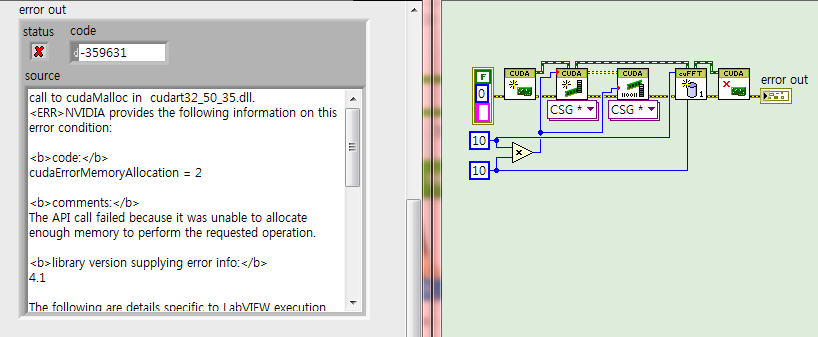 cuFFT VI Input and Output are Identical in LabVIEW GPU ...