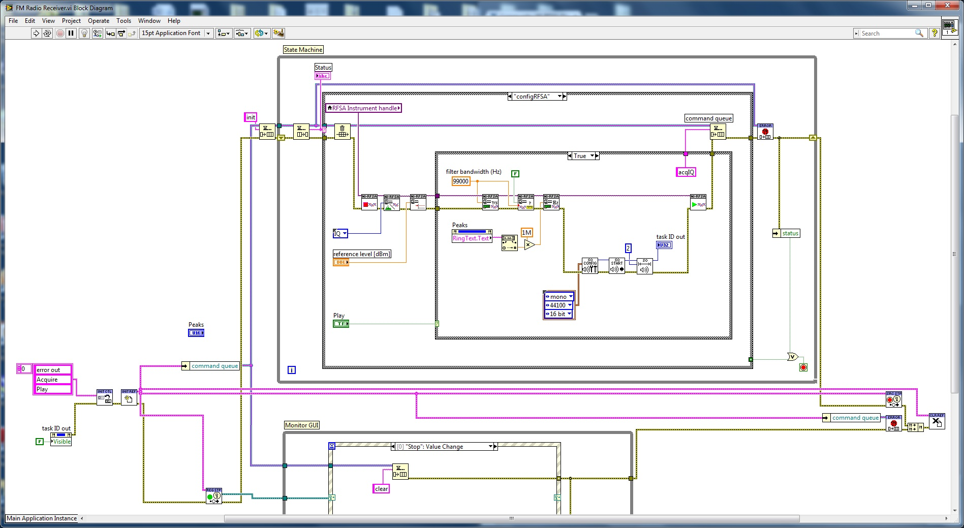 Draw The Block Diagram Of Fm Radio Receiver Electrical Wiring Diagrams Circuit Tea5710 Electronic Design Ni Rfsa Discussion Forums National Instruments