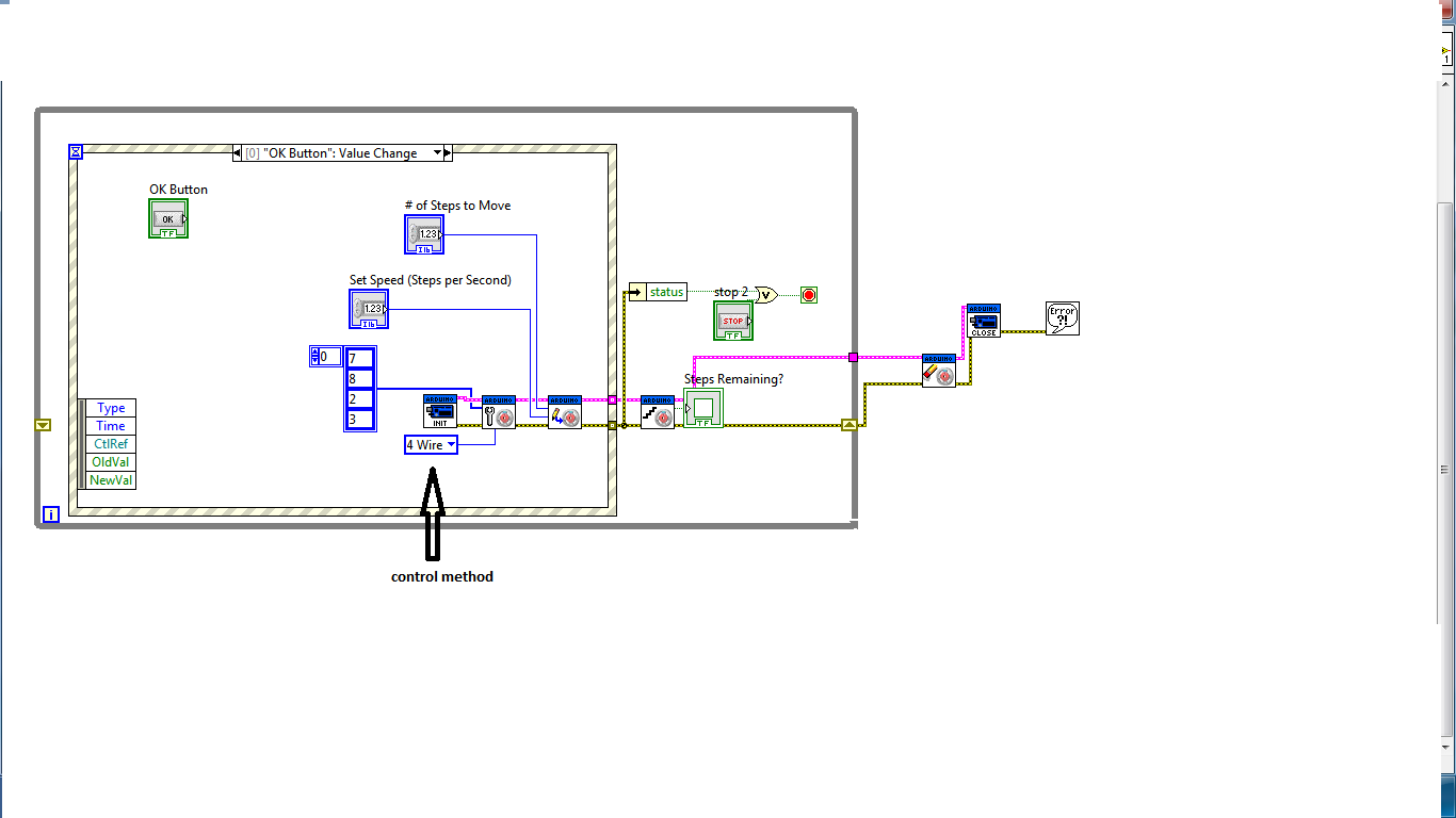 Mycom stepper motor control labview, visual basic, c#.