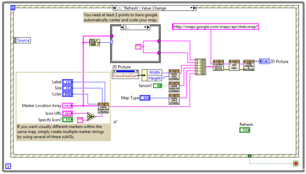 Using Google Maps in LabVIEW - NI Community - National