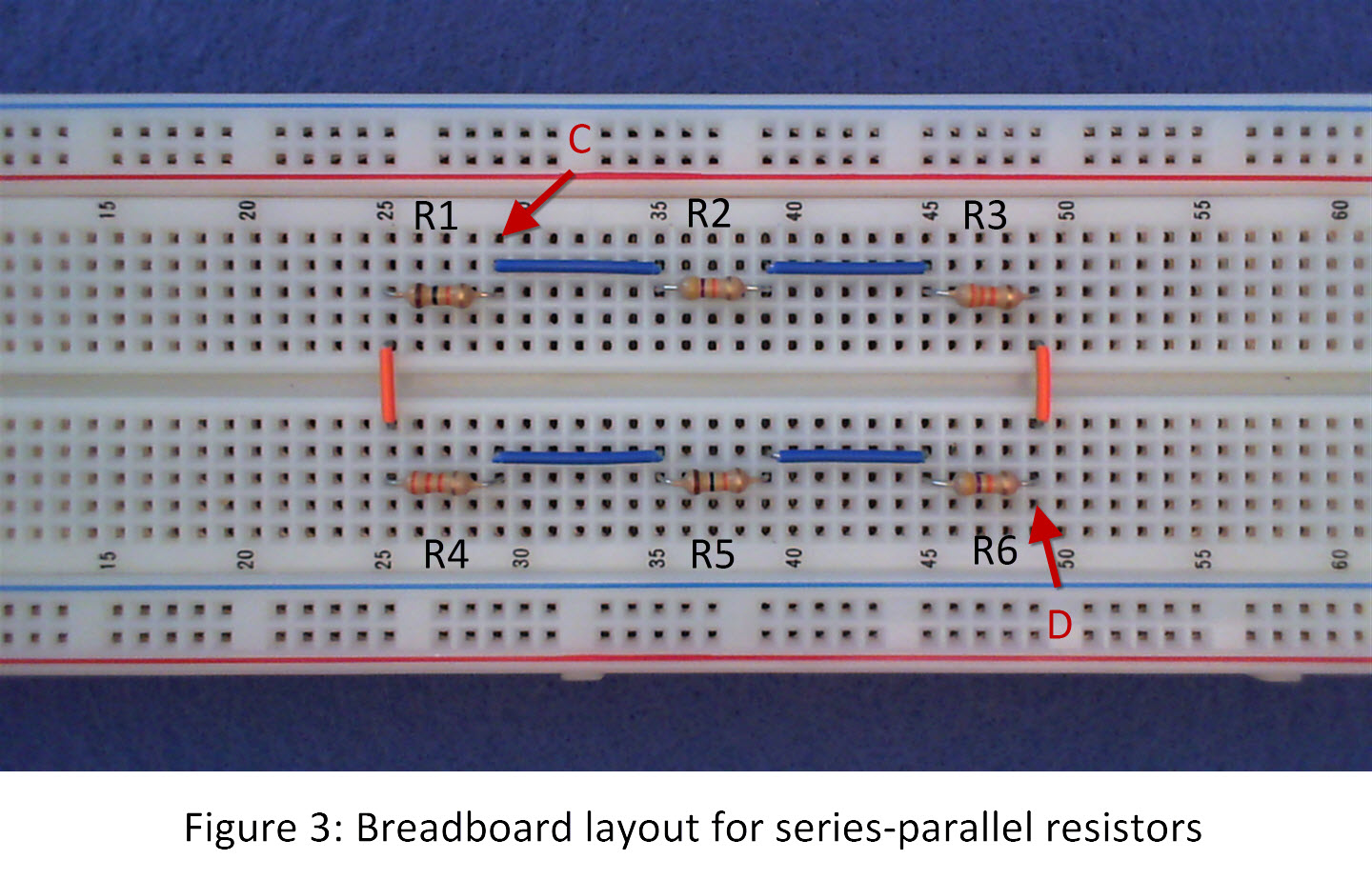 Circuitwith Series And Parallel Resistors