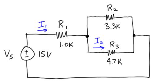 mydaq homework problem  dc circuits  u0026gt  resistive circuits  u0026gt  current divider
