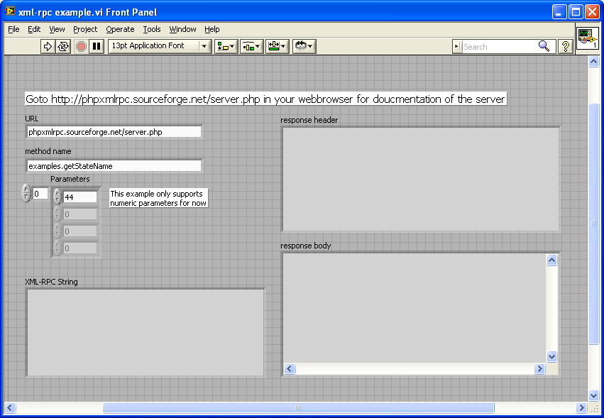 XML-RPC Client for LabVIEW - NI Community - National Instruments