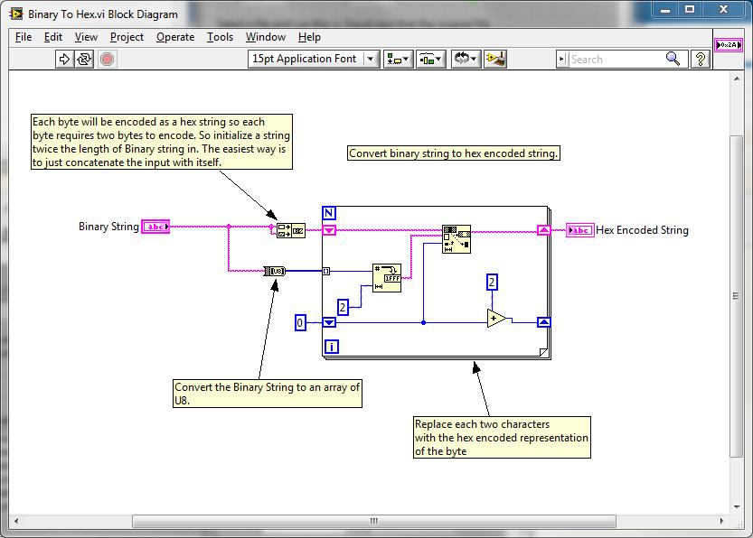 HEX Encoder and Decoder - NI Community - National Instruments