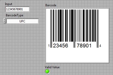 Create Linear Barcodes (UPC, EAN, Code 39, Code 128) - NI