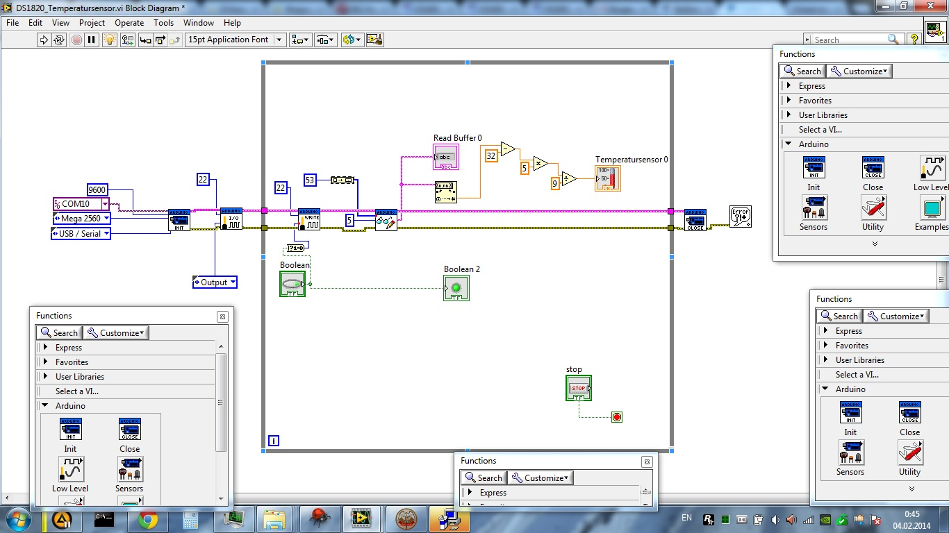 Solved: Arduino and Dallas DS1820 (one-wire) - Page 12 - NI