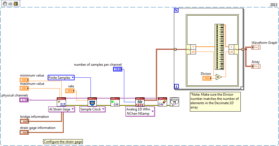 Labview strain gauge tutorial