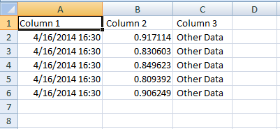 write multiple columns with write to spreadsheet file vi