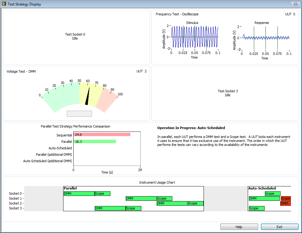 TestStand Parallel Testing Strategies Demo - Discussion Forums ...