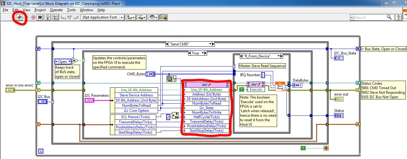 I2C Implementation in LabVIEW FPGA - NI Community - National