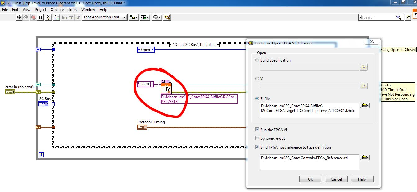 I2C Implementation in LabVIEW FPGA - NI Community - National Instruments