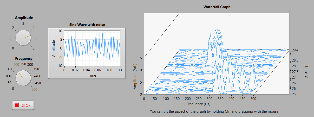 Simple continuously updating waterfall plot discussion forums waterfall plotg ccuart Image collections