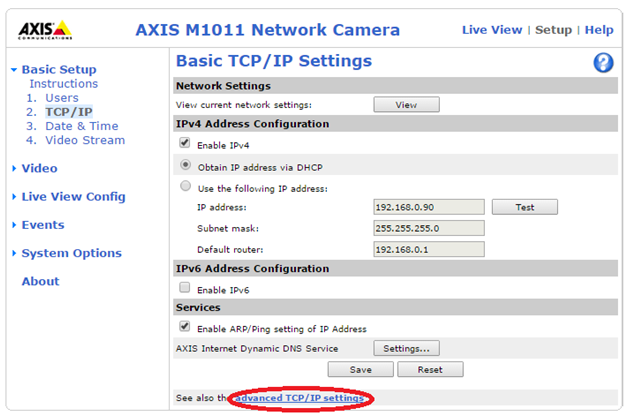 Using the Machine Name of an Axis IP Camera - NI Community