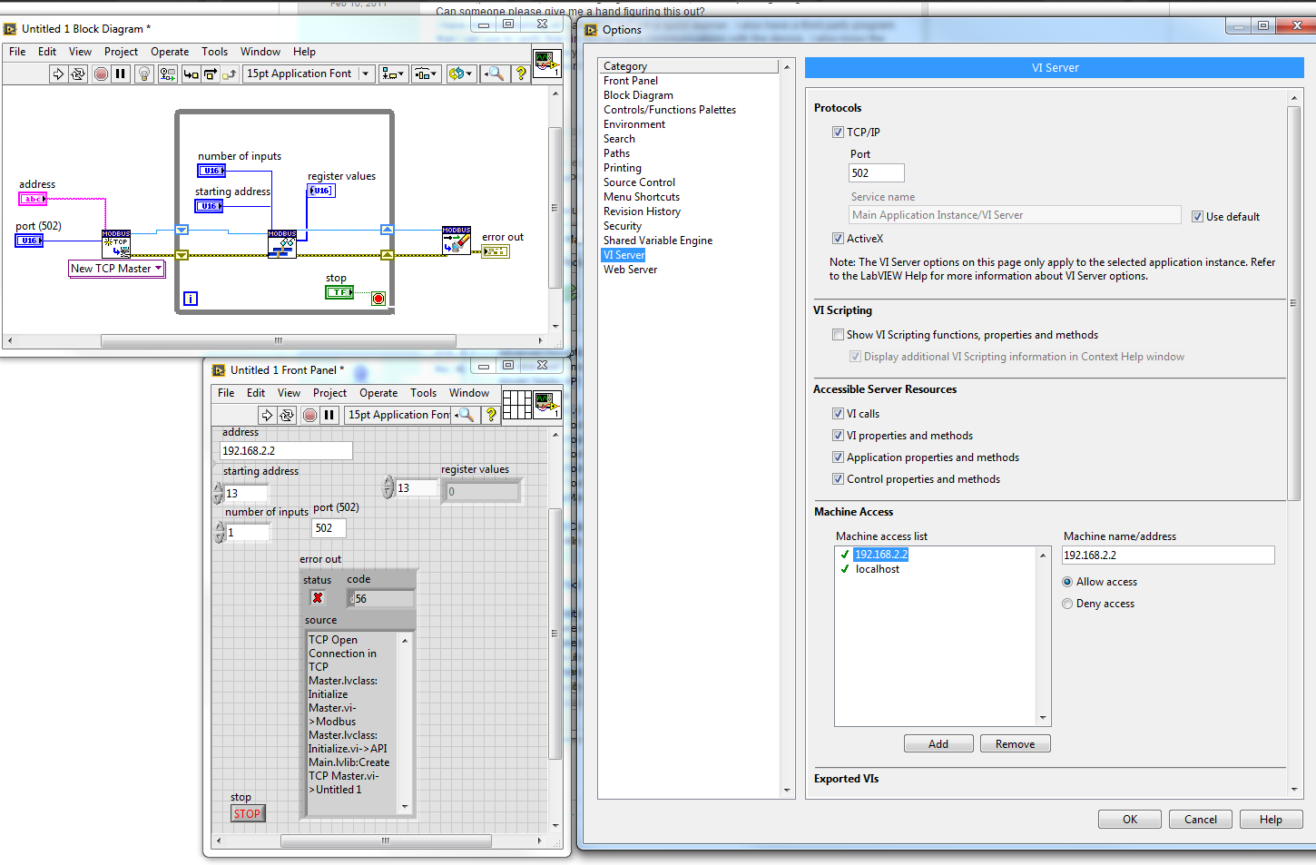 NI LabVIEW Modbus API Discussion - Page 26 - NI Community