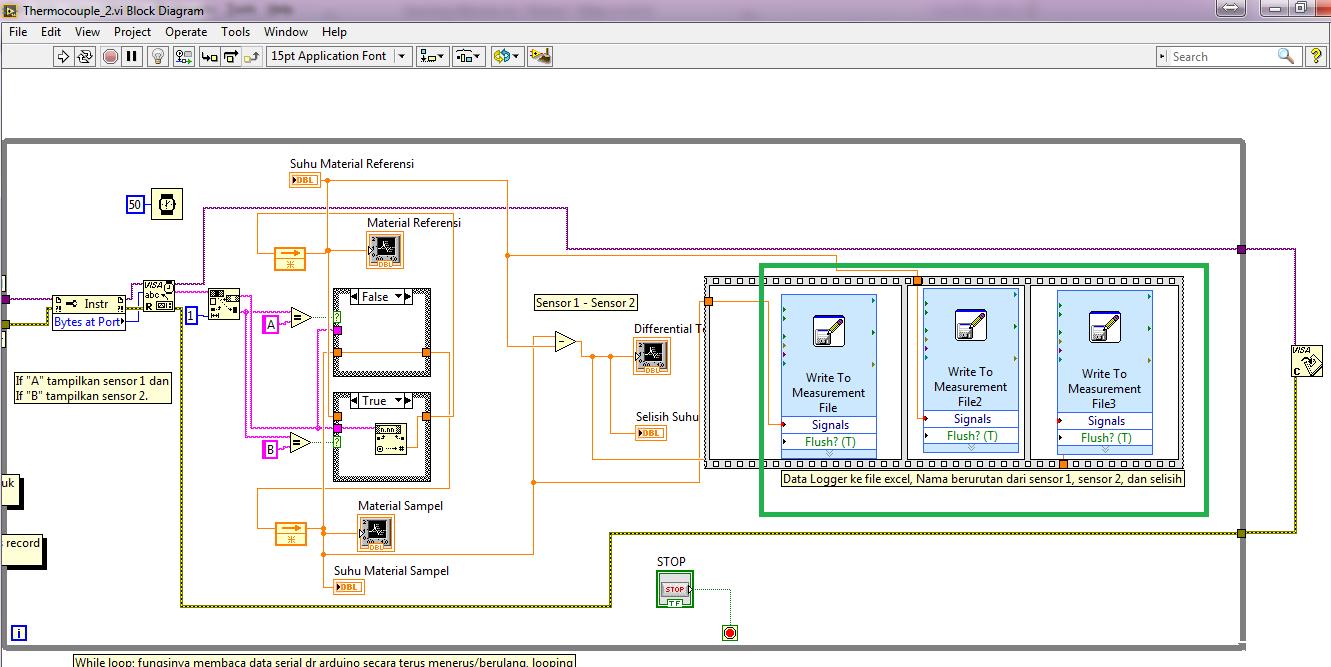 Delay lama pembacaan data dari arduino ke labview discussion diagram disable structure itu mirip seperti comment out dalam text based programming bisa ditemukan di block diagram programmingstructuresdiagram ccuart Images
