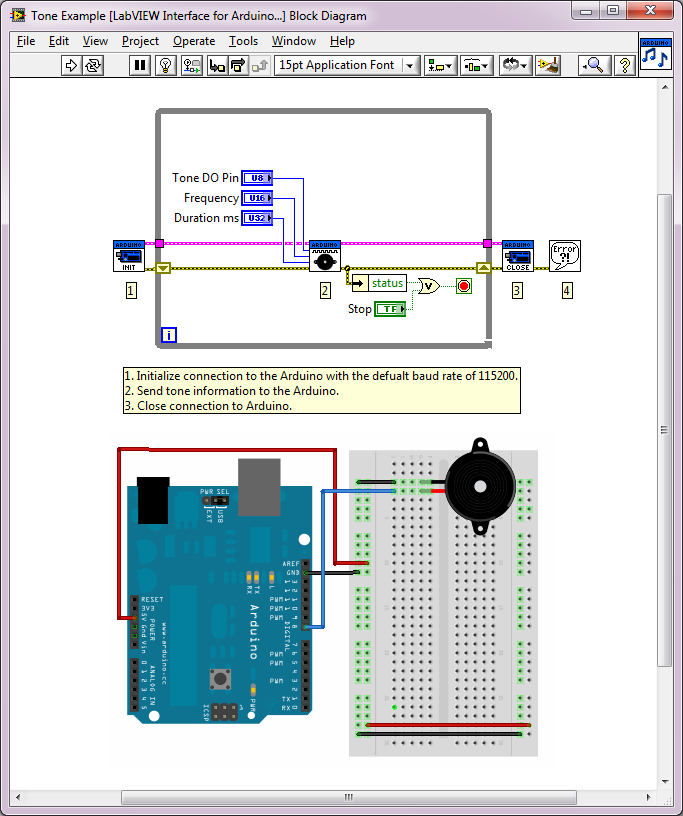 Arduino example tone discussion forums national