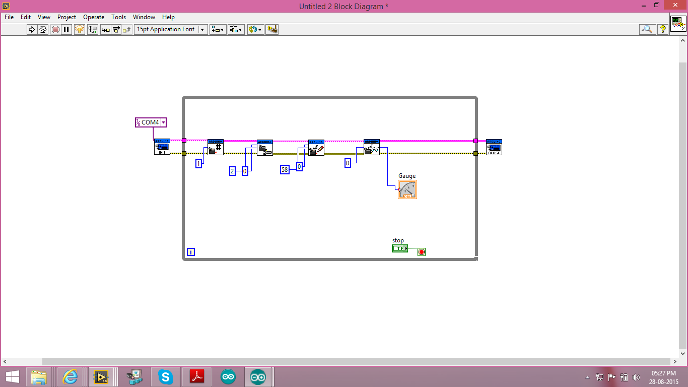 Hi, I try to run a servo motor using Arduino through LIFA  But what