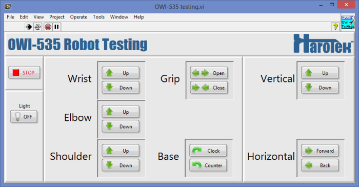 LabVIEW Driver for OWI-535 Robotic Arm - NI Community