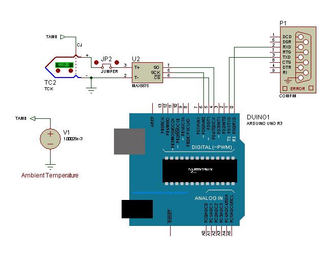 Komunikasi Adruino dengan Thermocouple MAX6675 - Discussion Forums ...