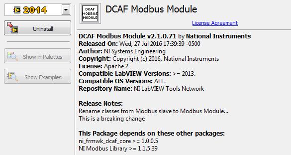 Modbus Module - old API? - NI Community - National Instruments