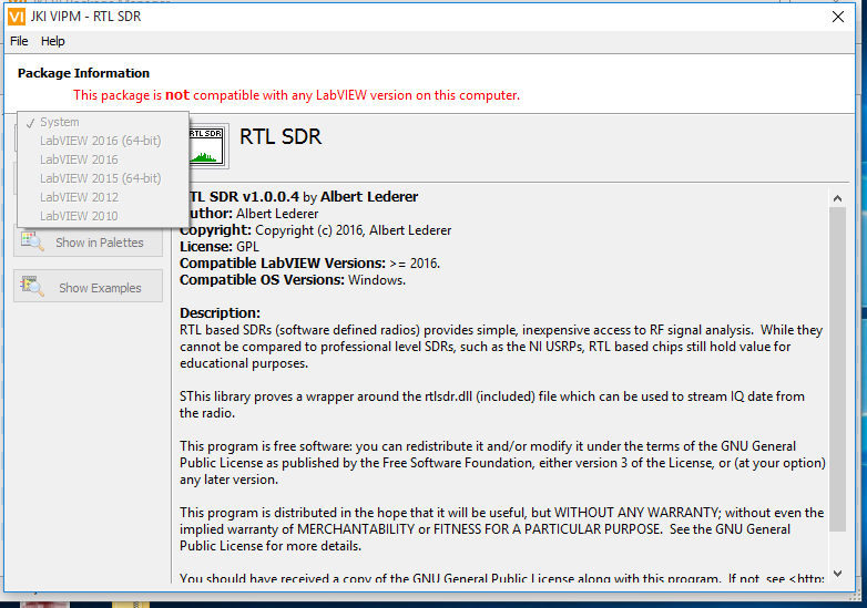 rtl sdr software windows 8.1
