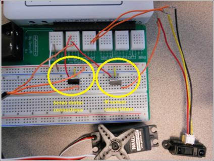 Proximity-Controlled Servo Motor - NI Community - National