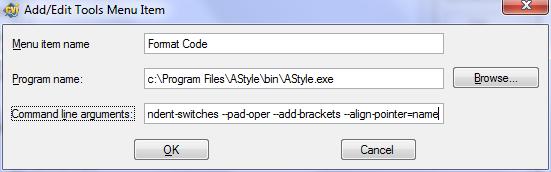 C Code Formatter