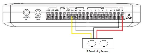 IR Proximity Sensor - Discussion Forums - National Instruments