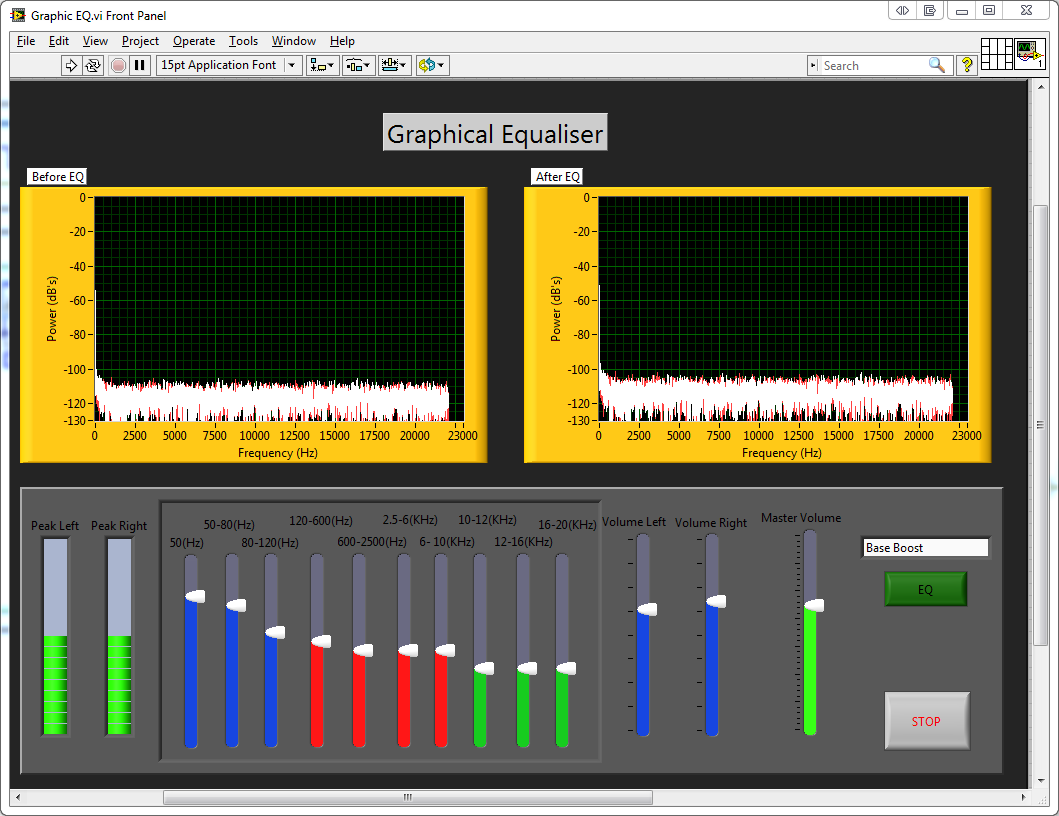 myGraphic EQ - Discussion Forums - National Instruments