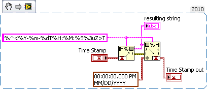 Converting from Date/Time String back to a Timestamp or