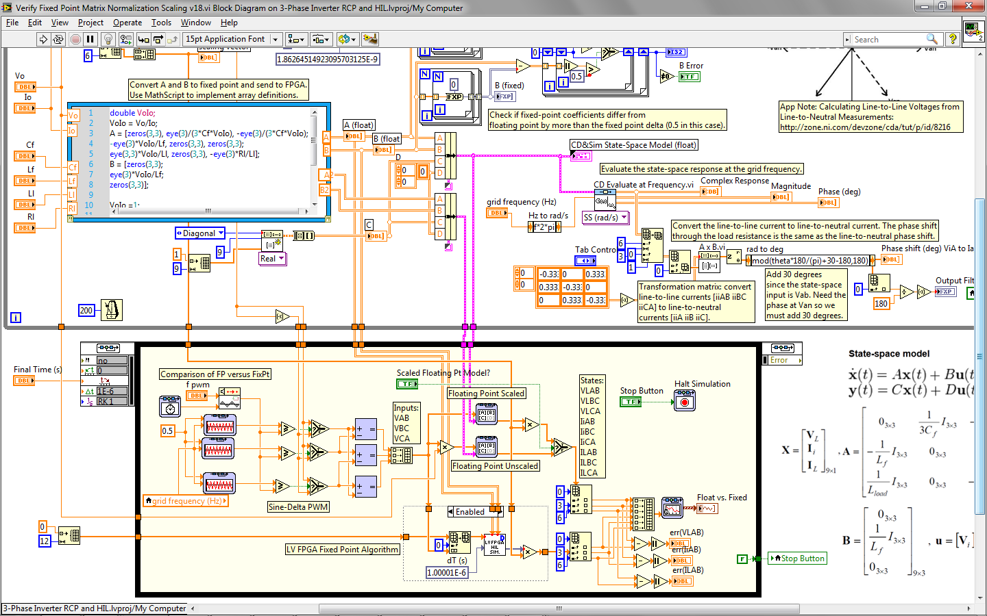 Open Source Reference Design Fpga Based State Space Real Time Hil Inverter Schematic Diagram Group Picture Image By Tag Simulation Of 3 Phase Discussion Forums National Instruments