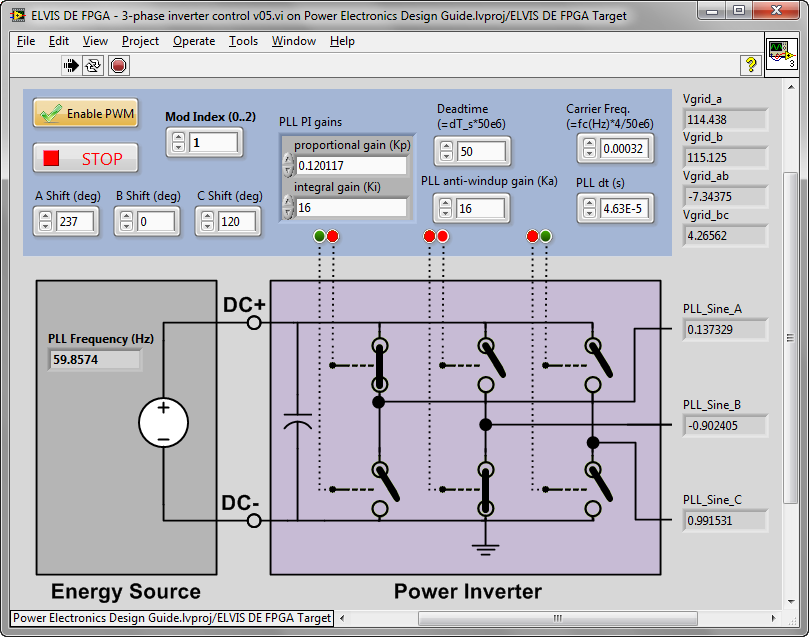 NI ELVIS Power Electronics Trainer - Hands-On Experiential
