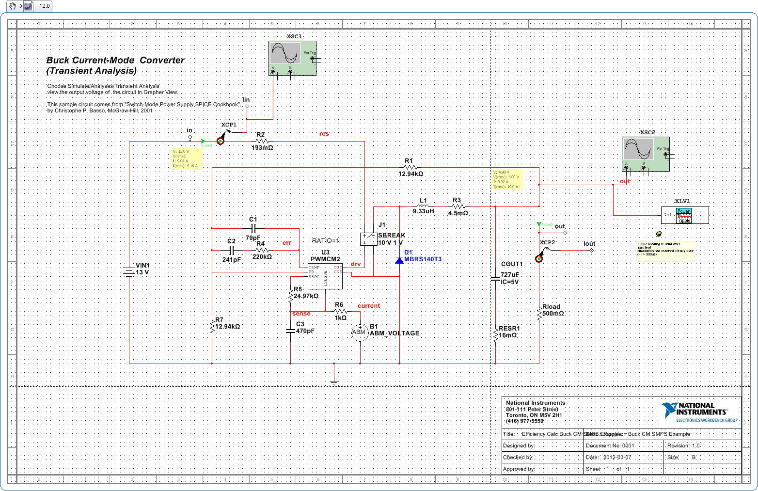 Output Ripple of Switched Mode Power Supplies (SMPS) Evaluator ...