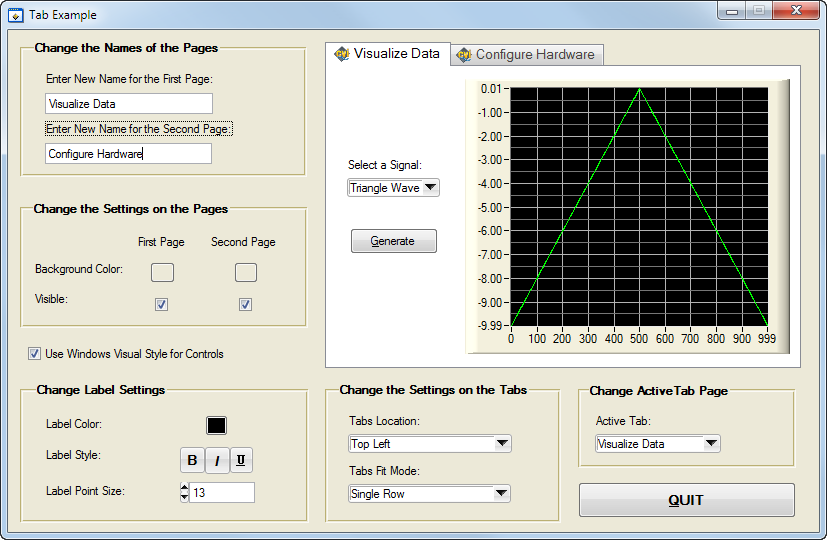 LabWindows/CVI Tip: How to Best Use Tab Controls to Improve