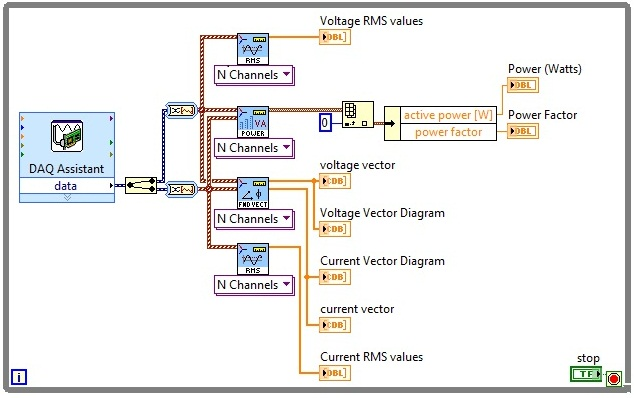 Electrical power measurements with labview and compactdaq simplepowermeasurementsg ccuart Gallery