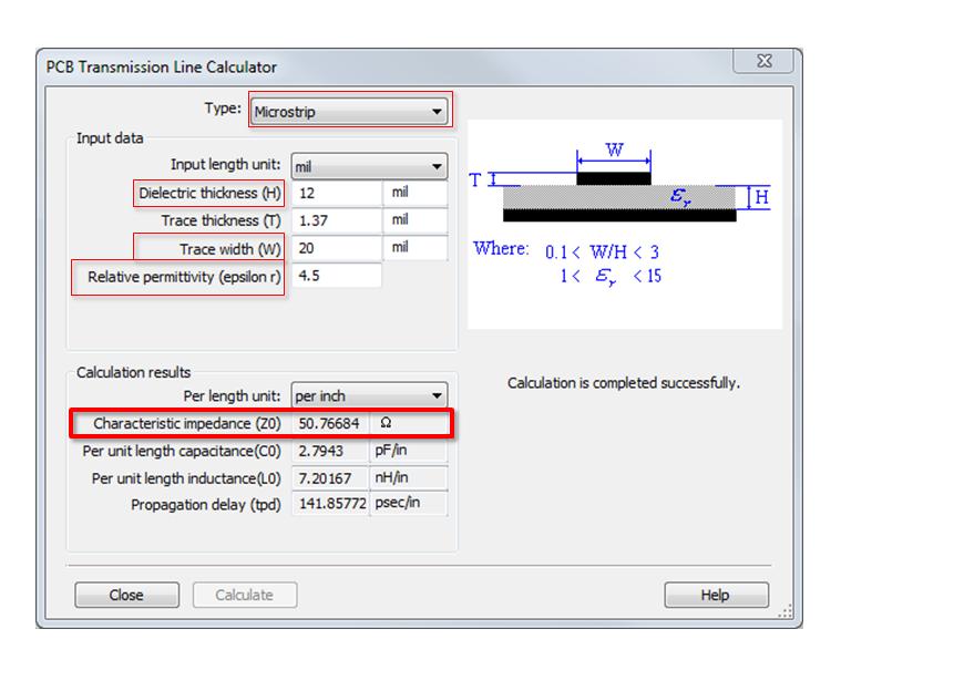 PCB Transmission Line Calculator in Ultiboard - NI Community