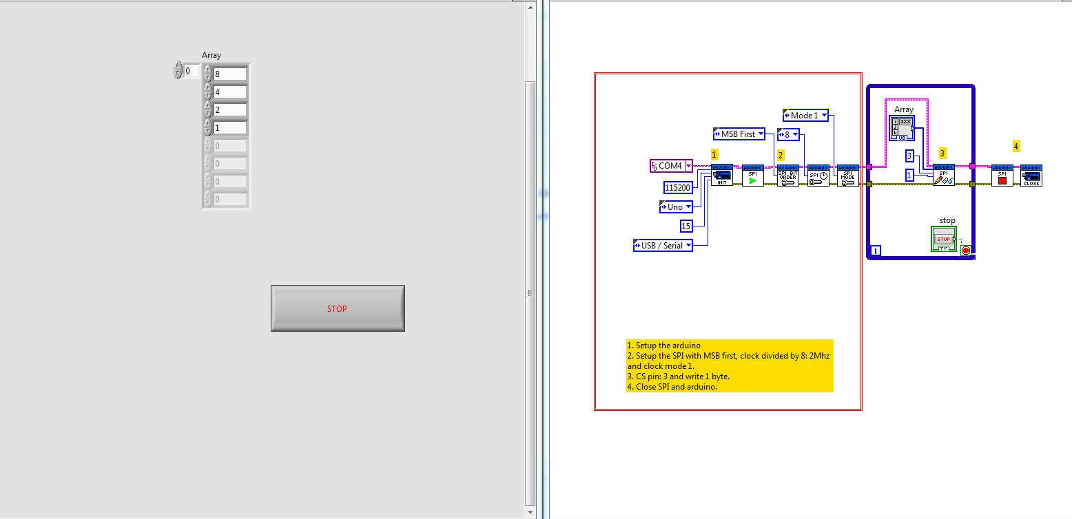 SPI arduino uno / labview - NI Community - National Instruments