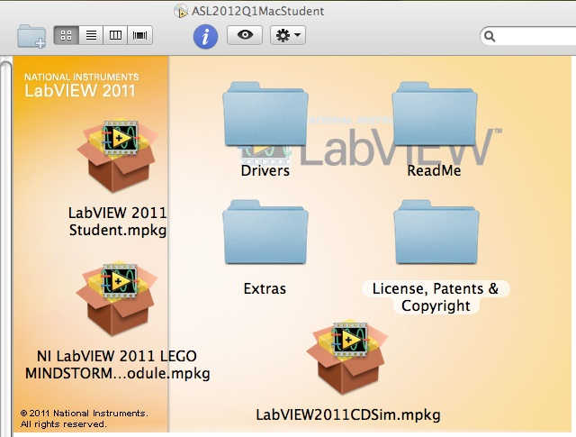 Features of NI LabVIEW Student Edition