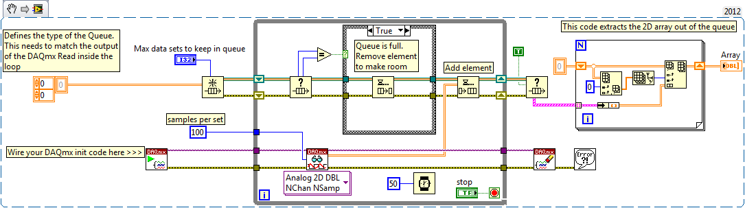 Using a labview queue as a fifo for daqmx data discussion forums daqfifoexampleg ccuart Images