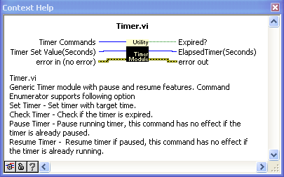 Generic Timer module with Pause and Resume  - Discussion