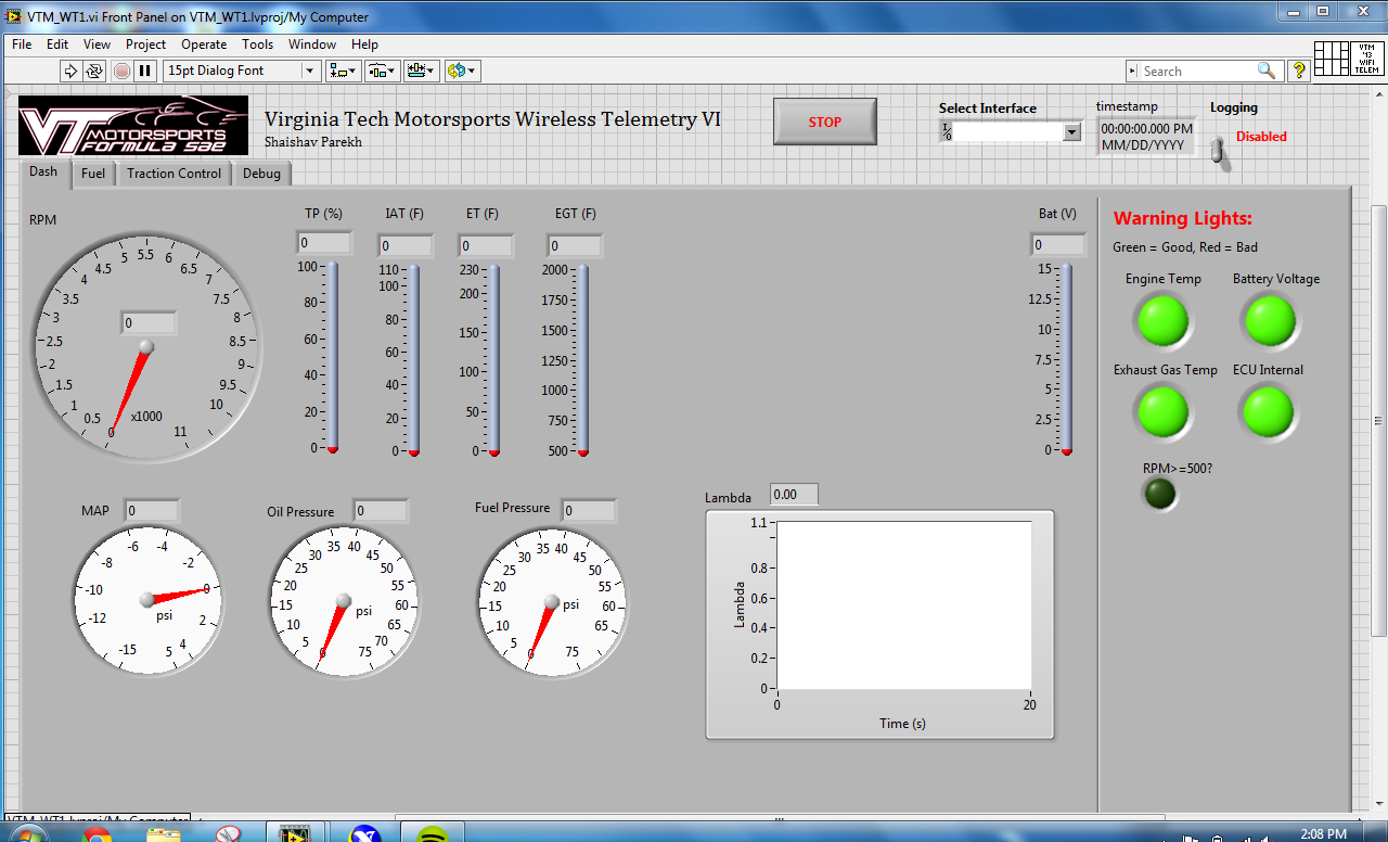 Wireless Telemetry With Ni Wireless Cdaq And Labview