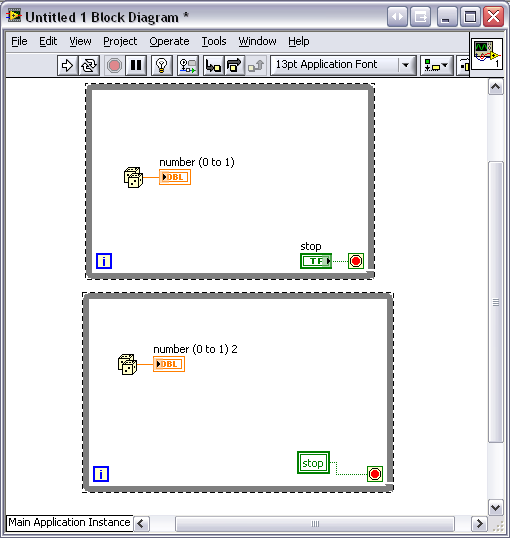 how to make button round in labview