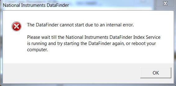 NI_DataFinder Error