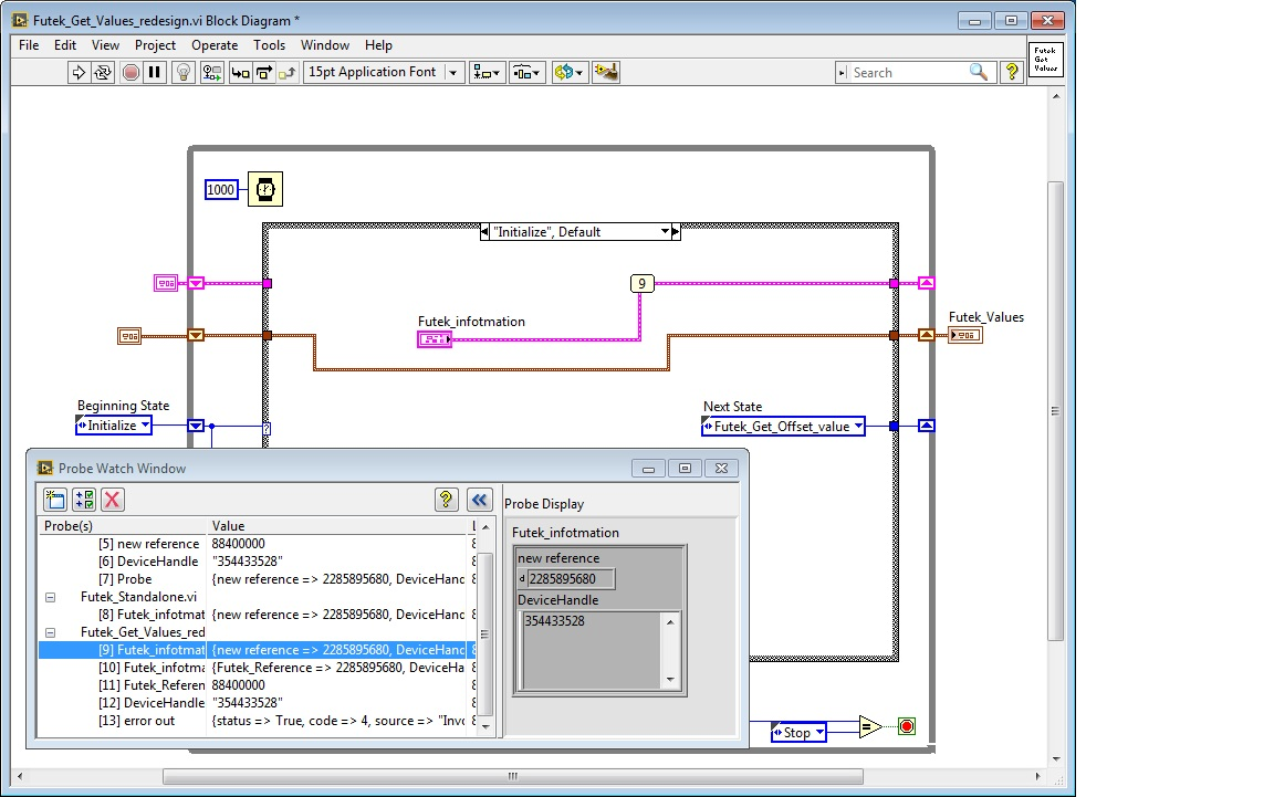 Labview Topics Description Block Diagramjpg Futek Get Values 1