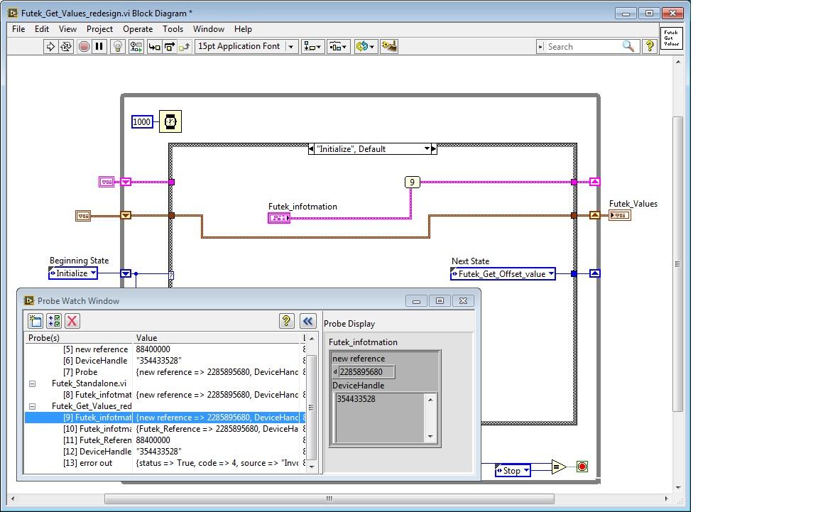 Labview Topics Windows 7 Block Diagram Futek Get Values 1