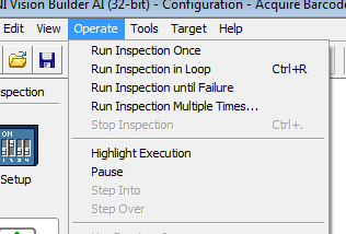 Run Inspection